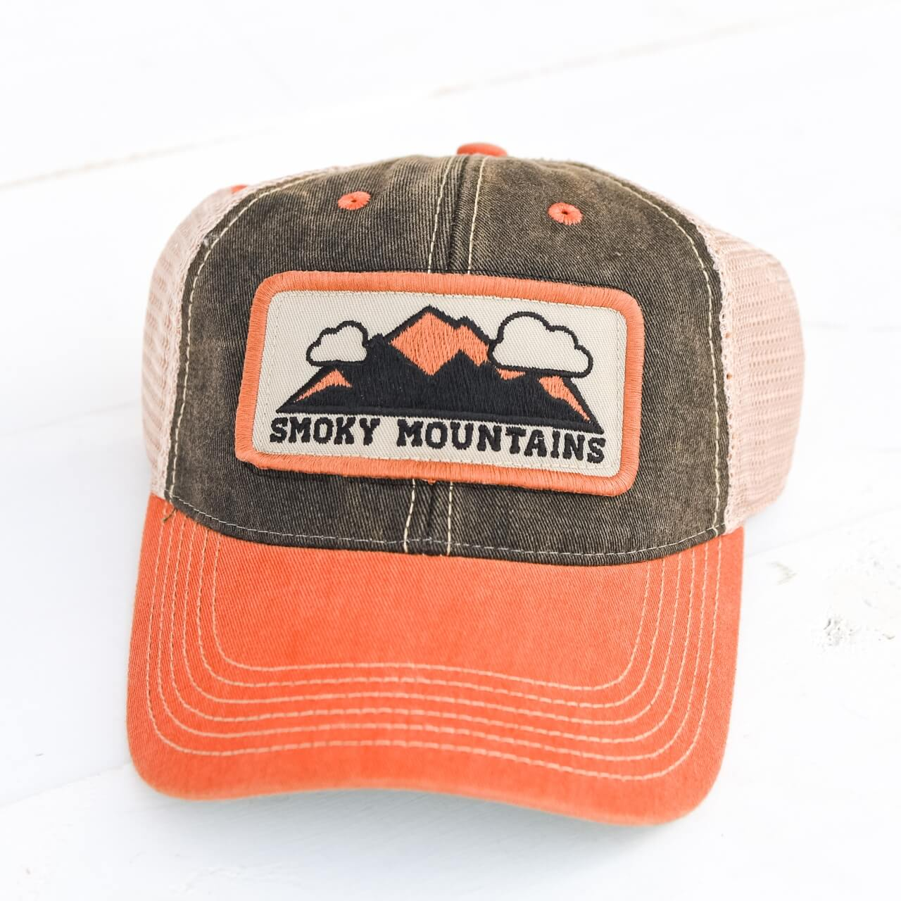 8c0a8c74fdc Smoky Mountains Trucker Hat